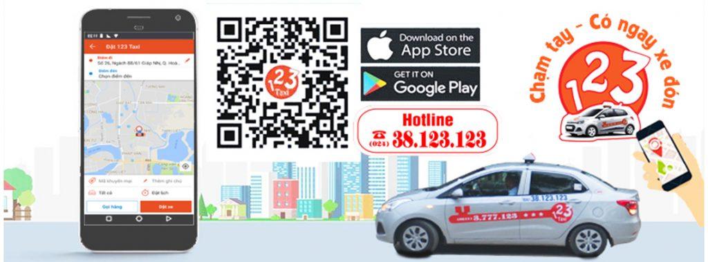 Taxi 123 App - giảm áp lực cho lái xe